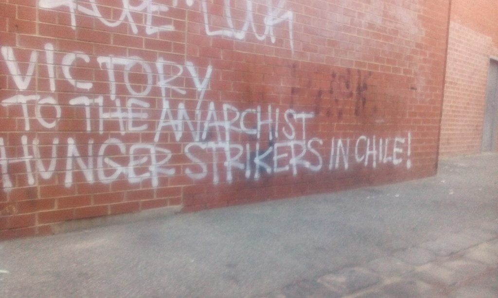 Sieg den anarchistischen Hungerstreikenden in Chile